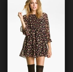 Free People Floral Babydoll Tunic